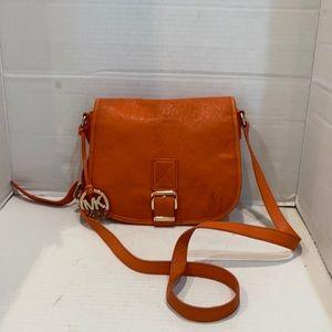 Michael Michael Kors Medium Messenger Saddle Bag